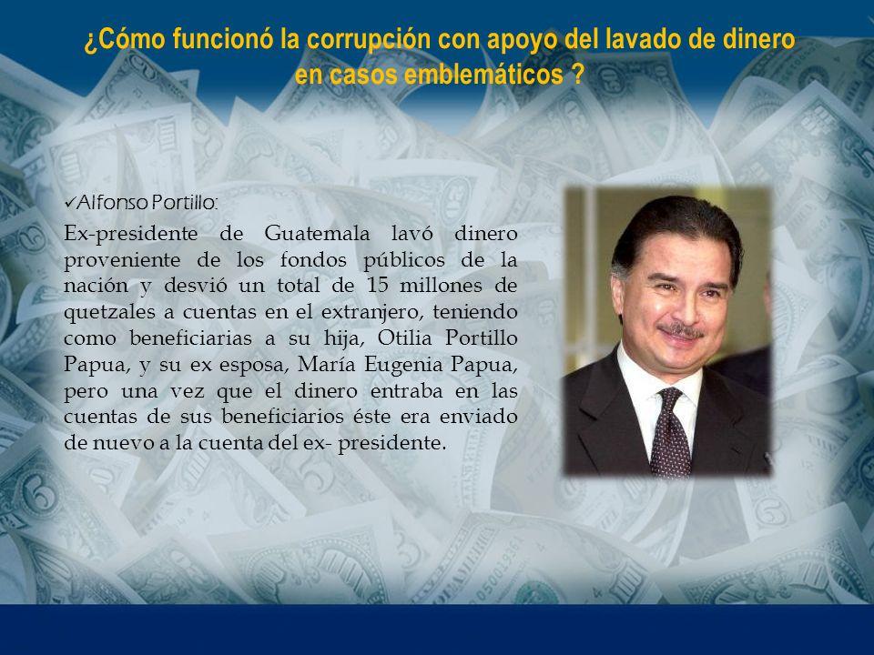 Alfonso Portillo: Ex-presidente de Guatemala lavó dinero proveniente de los fondos públicos de la nación y desvió un total de 15 millones de quetzales