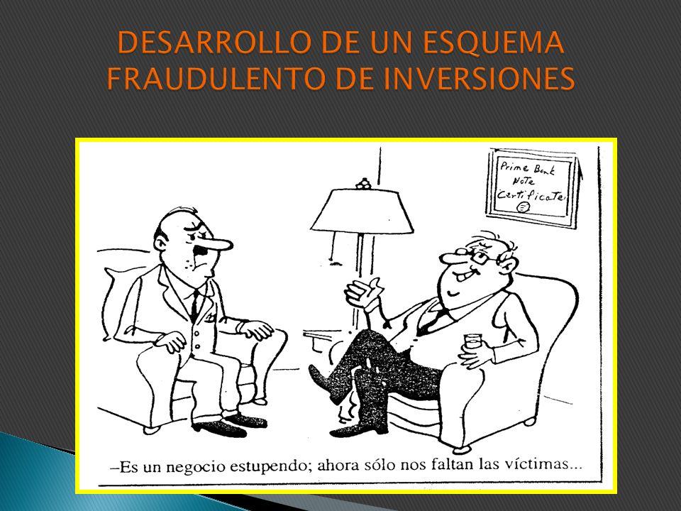 Muchos piensan que un esquema de fraude conlleva un proceso: Complejo Sumamente técnico Coordinado