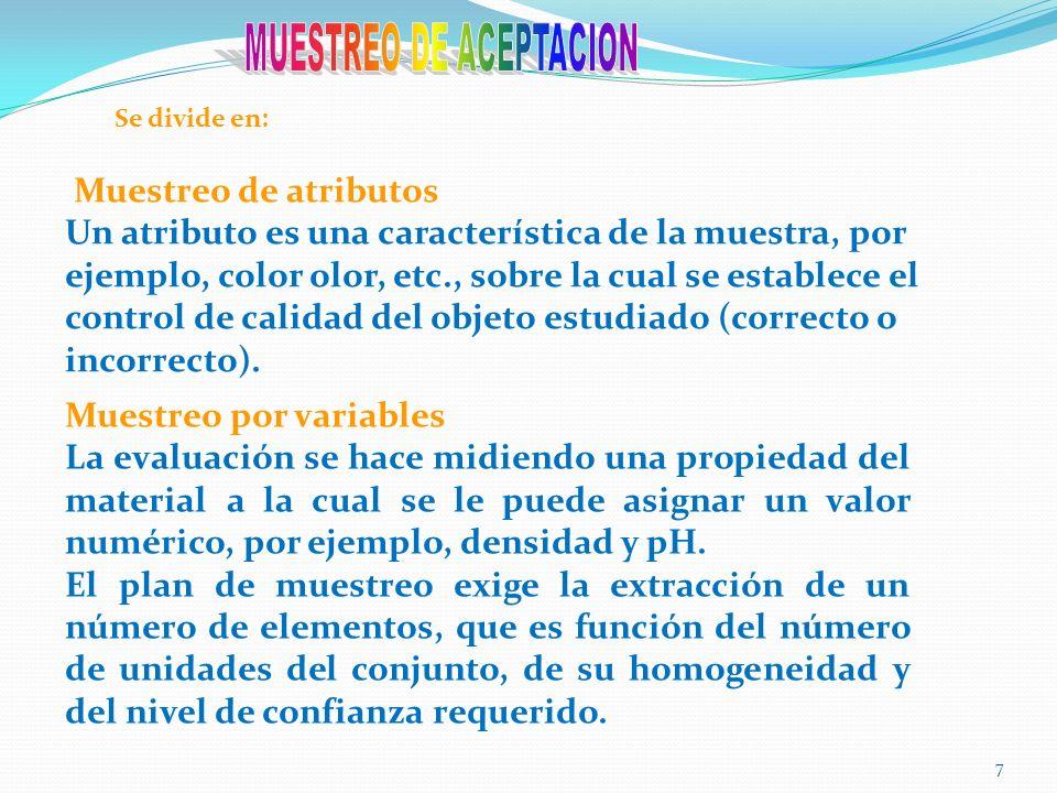 8 La característica básica a considerar en el muestreo de caracterización es la heterogeneidad del material, y de acuerdo con ella, deberá establecerse el tamaño de la muestra.