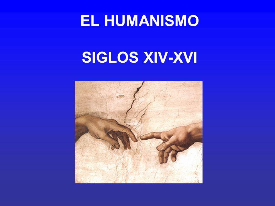 EL HUMANISMO SIGLOS XIV-XVI