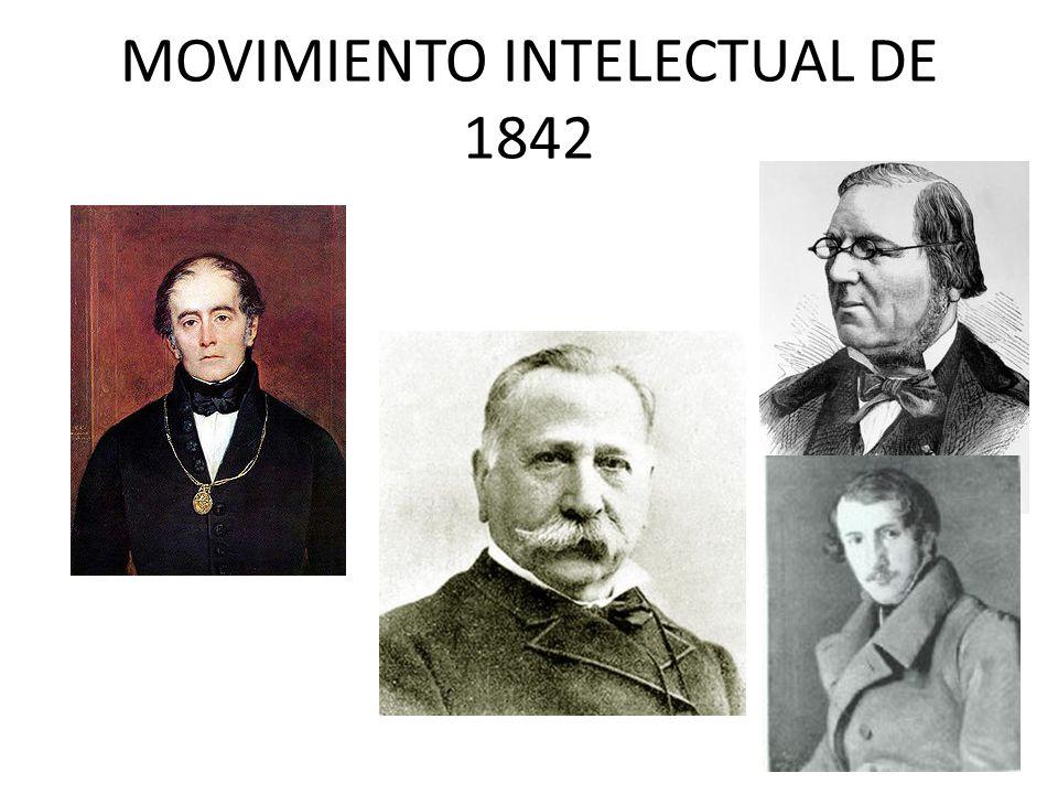 MOVIMIENTO INTELECTUAL DE 1842