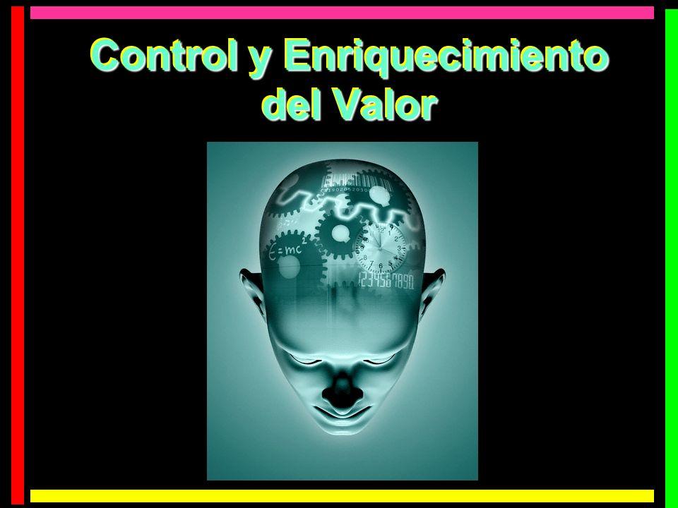 Control y Enriquecimiento del Valor Control y Enriquecimiento del Valor
