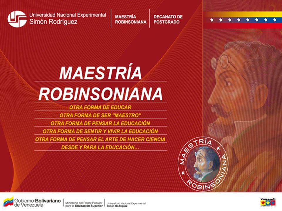 Bases Formativas e Intenciones Educativas Del Educador Robinsoniano como Investigador Social Bases epistemológicas de la Investigación Social.