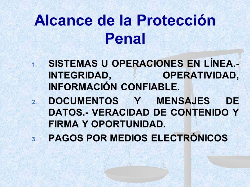 Ley Especial contra los Delitos Informáticos (RÉGIMEN PENAL) INTEGRAL (diversos bienes jurídicos) OPORTUNA (adaptada a la coyuntura) ACTUALIZADA (tend