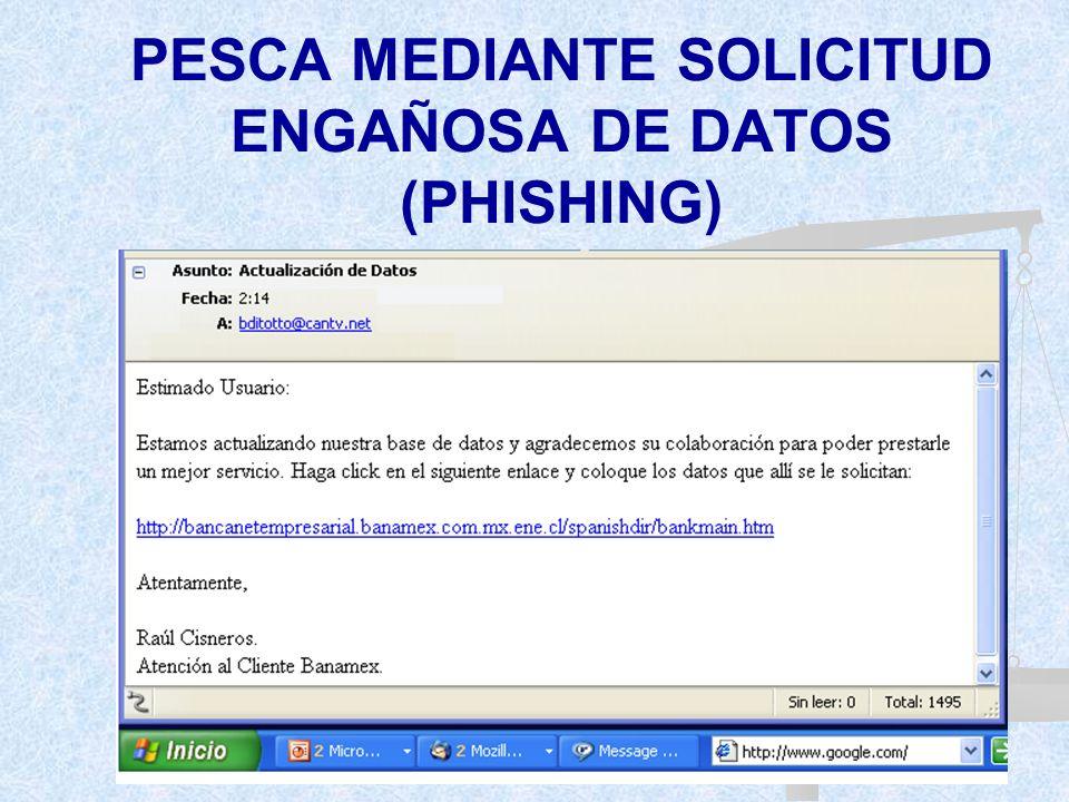 MANEJO FRAUDULENTO DE TARJETAS INTELIGENTES O INSTRUMENTOS ANÁLOGOS MODUS OPERANDI: Pesca mediante dispositivos ocultos en telecajeros y puntos de ven
