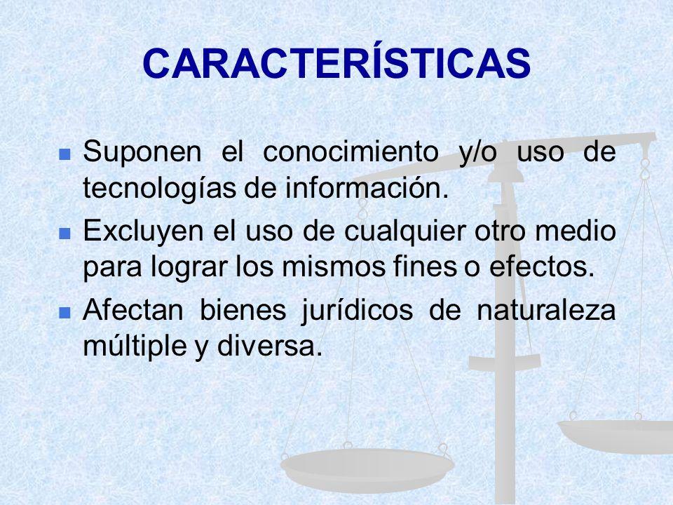 APROXIMACIÓN A UN CONCEPTO 3. M. VÁSQUEZ / B. DI TOTTO Actos manifestados mediante el uso indebido de las tecnologías de información cuando tales cond