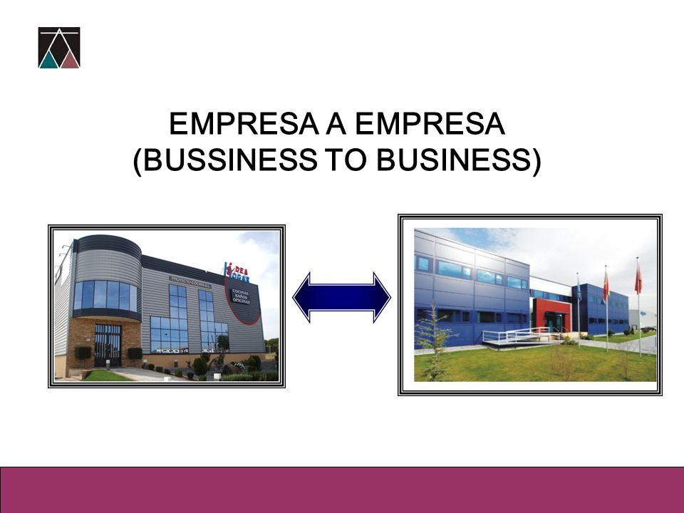 EMPRESA A EMPRESA (BUSSINESS TO BUSINESS)