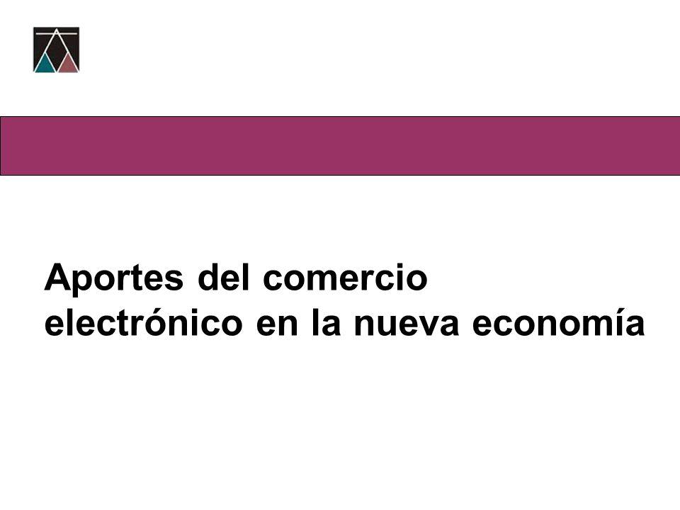 Aportes del comercio electrónico en la nueva economía