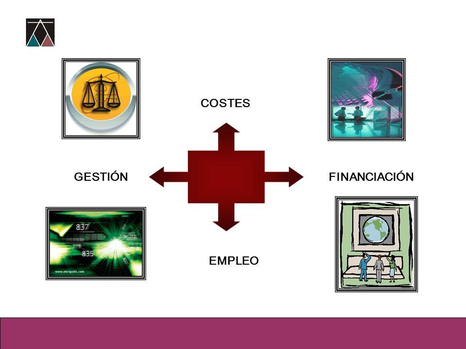 GESTIÓN COSTES FINANCIACIÓN EMPLEO