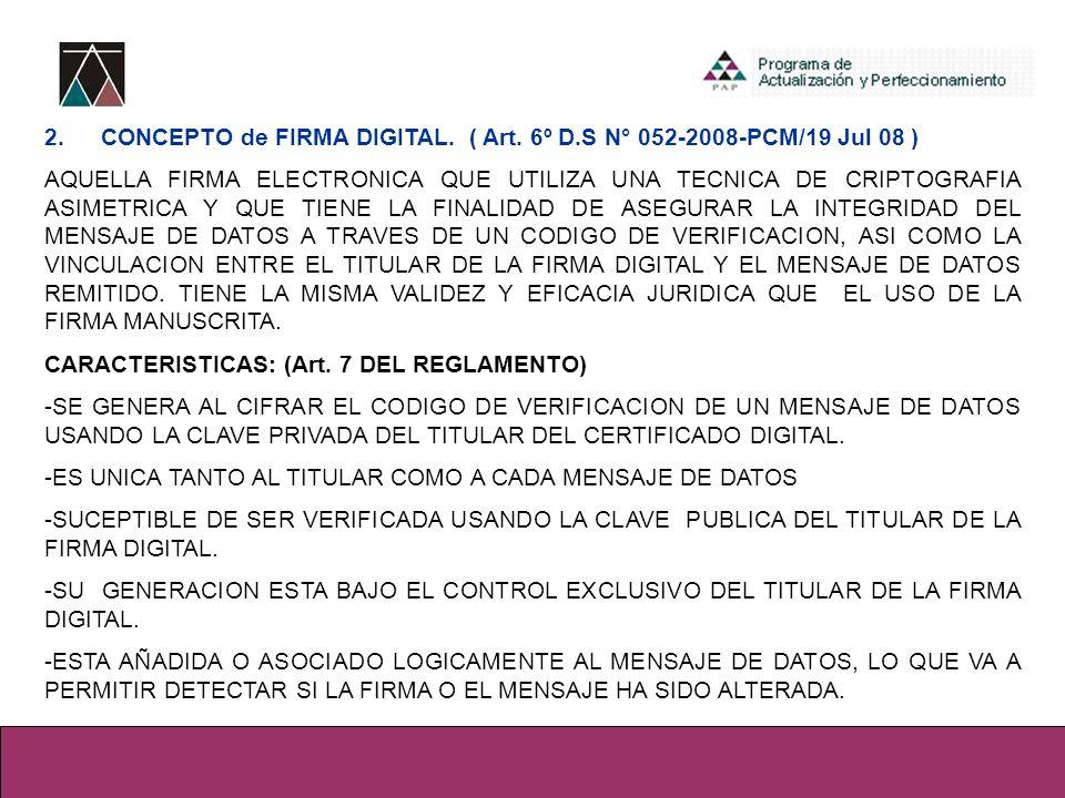3.FUNCIONES: (Art. 8 ° DEL REGLAMENTO-PRESUNCIONES).
