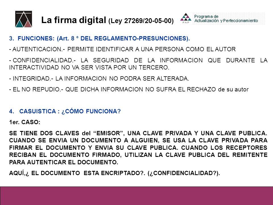 NUEVO REGLAMENTO DE LA LEY DE FIRMAS Y CERTIFICADOS DIGITALES D.S.