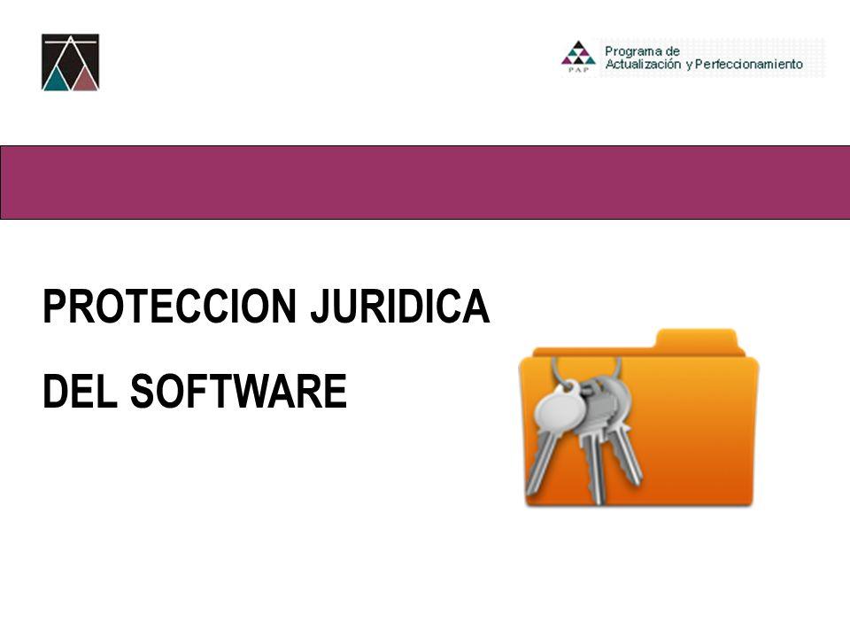 Bloque III-Ambiente Virtual PROTECCION JURIDICA DEL SOFTWARE