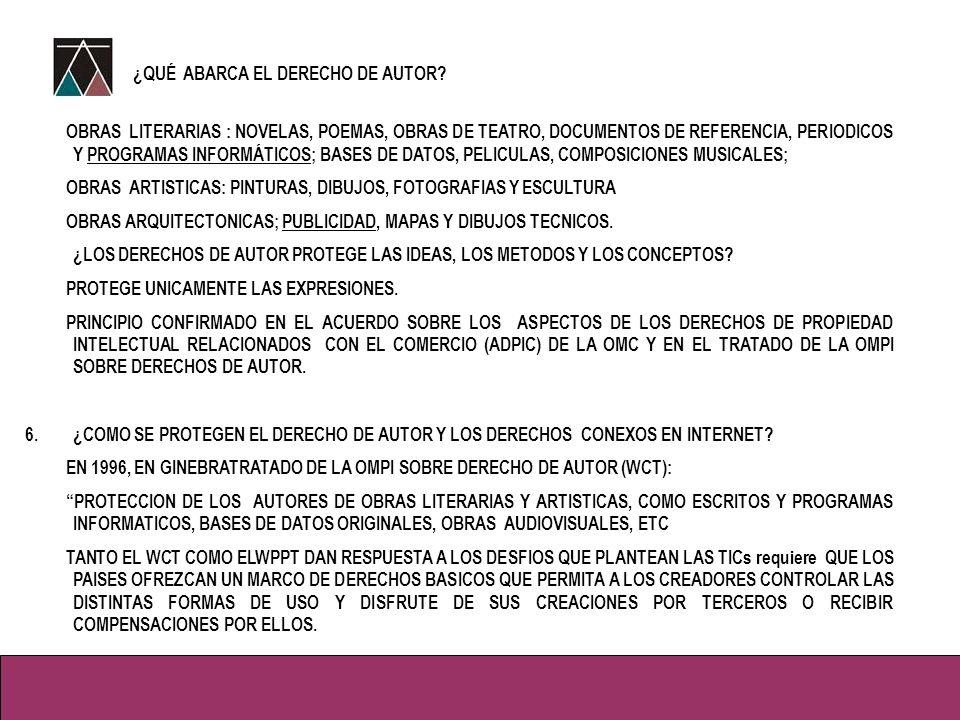 5.PROTECCION JURIDICA DE LOS PROGRAMAS INFORMATICOS EN EL PERU.