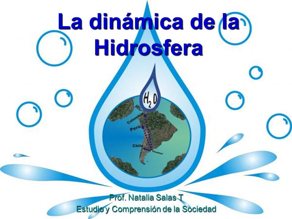 Los océanos cubren el 75% de la superficie del planeta Los océanos cubren el 75% de la superficie del planeta Agua: el elemento vital para la vida (90%=agua salada) Agua: el elemento vital para la vida (90%=agua salada) El agua dulce es muy escasa y se consume en grandes cantidades El agua dulce es muy escasa y se consume en grandes cantidades La cantidad de agua en la Tierra es constante, lo cual se debe al Ciclo del Agua La cantidad de agua en la Tierra es constante, lo cual se debe al Ciclo del Agua