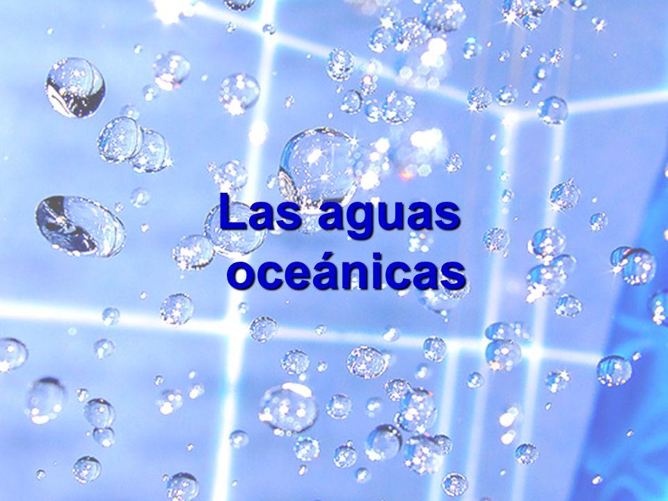 Océanos y mares: enormes masas de agua contenidas en las cubetas oceánicas Océanos y mares: enormes masas de agua contenidas en las cubetas oceánicasCaracterísticas 1.