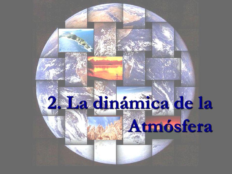 La Atmósfera Es la capa de aire que envuelve a nuestro planeta.