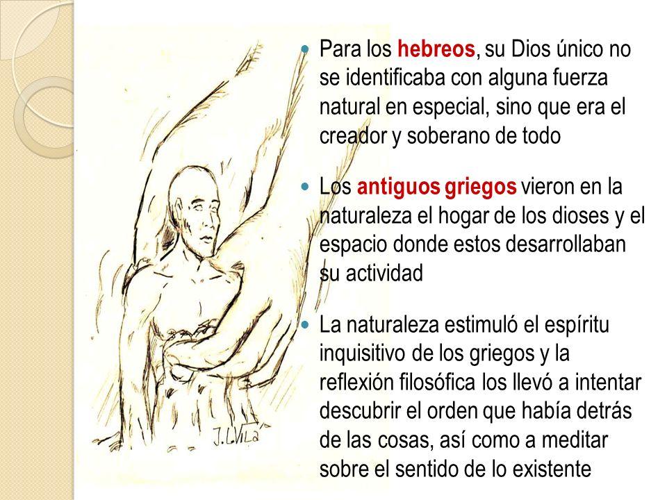 Los romanos creían, que el mundo estaba allí para ser utilizado por el ser humano y que este debía ejercer su dominio e imponer un nuevo orden en la Naturaleza En la época medieval se consideraba que el ser humano, creado a imagen y semejanza de Dios, tenía dominio sobre la naturaleza entera