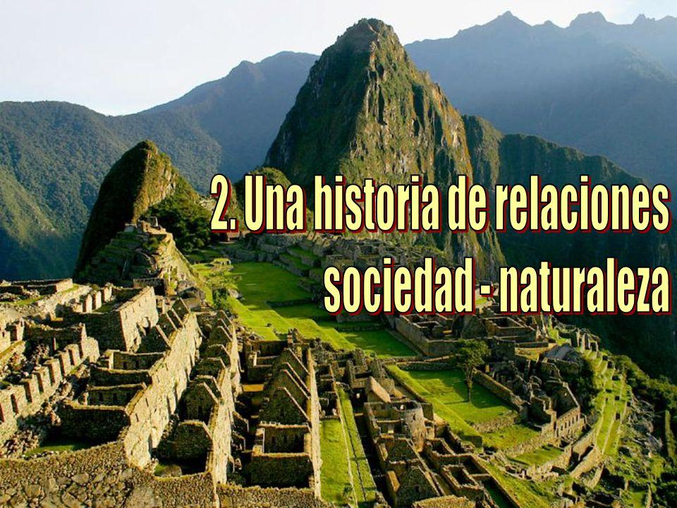 LA INFLUENCIA DEL MEDIO NATURAL El medio natural influye en la forma de vida de las personas.