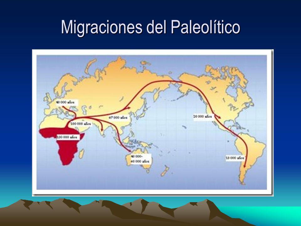 Migraciones del Paleolítico