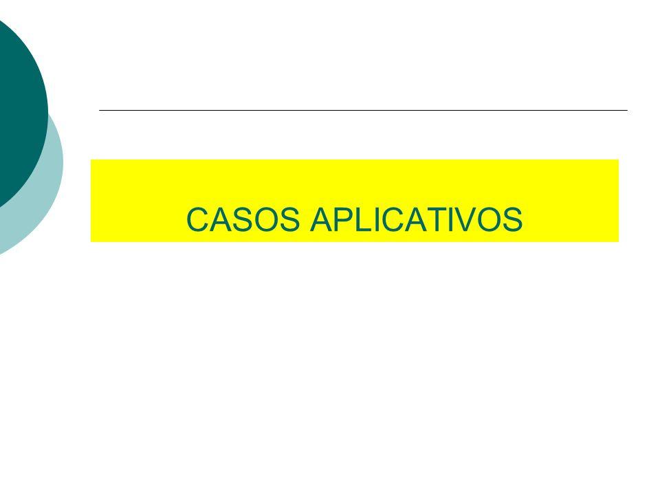CASOS APLICATIVOS