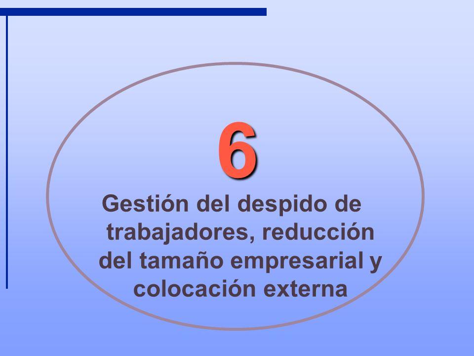 2 Objetivos Identificar los costes y beneficios asociados a la ruptura laboral.