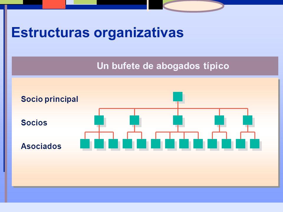Estructuras organizativas Empresa A Empresa BEmpresa C Alianza de tres empresas que juntan sus recursos para producir un nuevo producto, como un microprocesador.