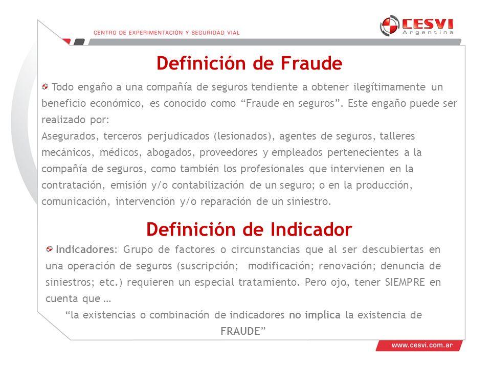 Todo engaño a una compañía de seguros tendiente a obtener ilegítimamente un beneficio económico, es conocido como Fraude en seguros.