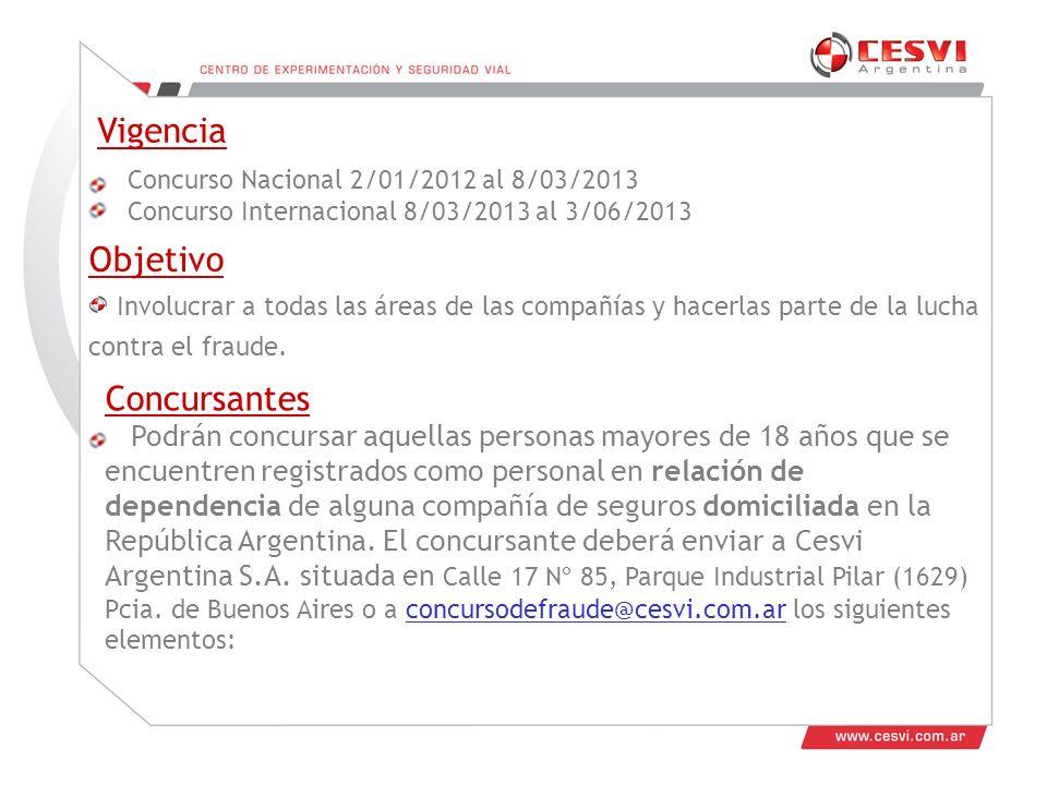 El formulario de inscripción, bajado de www.culturaantifraude.com con todos los datos allí requeridos.