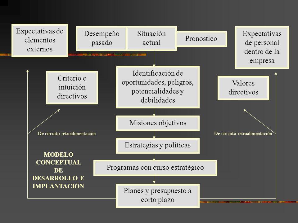 Propósitos fundamentales del análisis de la situación Identificar y analizar tendencias, fuerzas y fenómenos claves que tienen un impacto potencial en la formulación e implantación de estrategias.