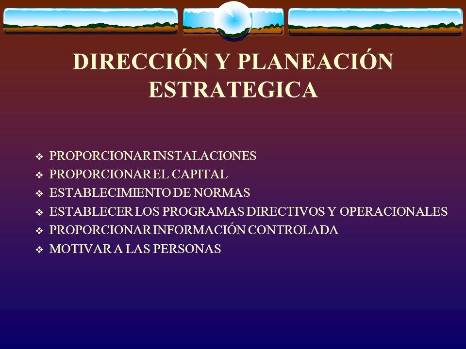 EL PLAN PARA PLANEAR (Manual de Planeación) El medio ambiente de la PE Suposiciones de la PE Glosario de términos Bibliografía