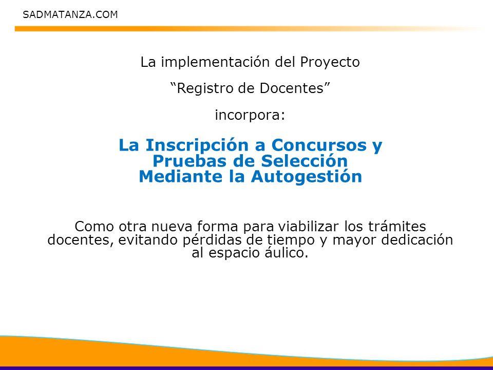SADMATANZA.COM INSTRUCTIVO REGISTRO DE DOCENTES
