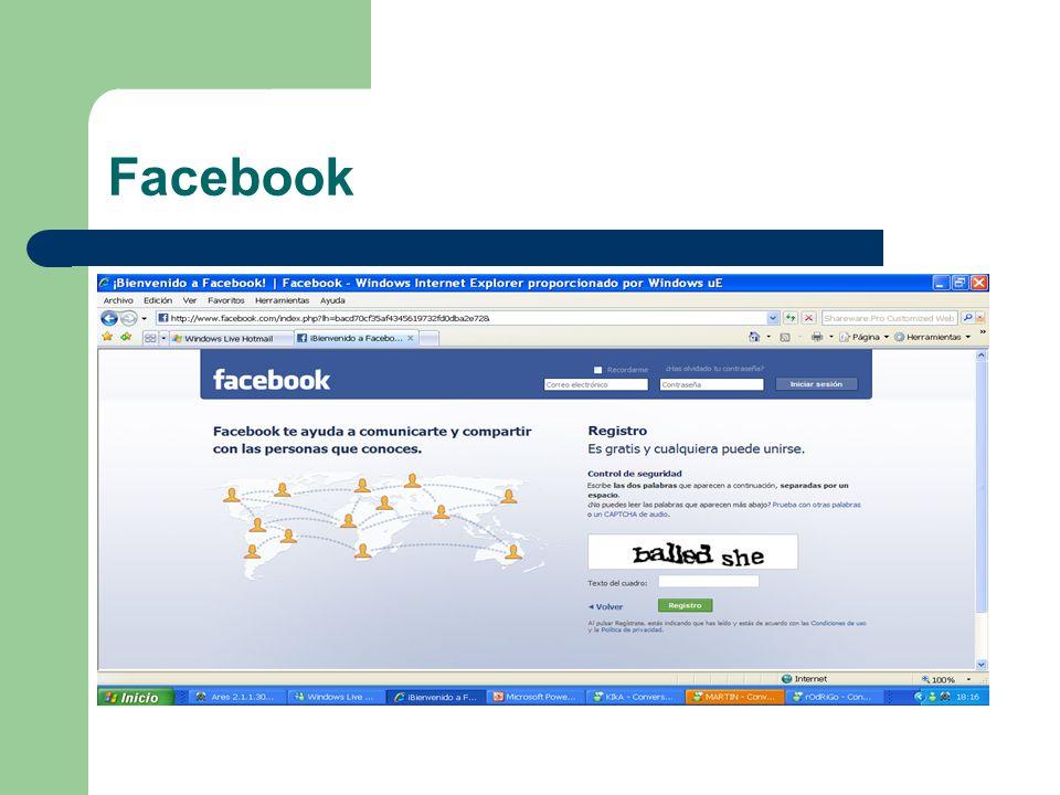 Después de llenar correctamente el control de seguridad te va a aparecer una confirmación como esta y eso significa que ya formas parte de la gran familia de facebook