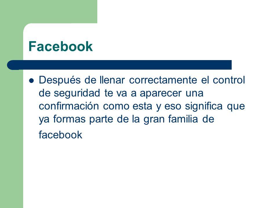 Facebook 3er paso: después de haber llenado los datos le das clic en crear álbum Crear álbum