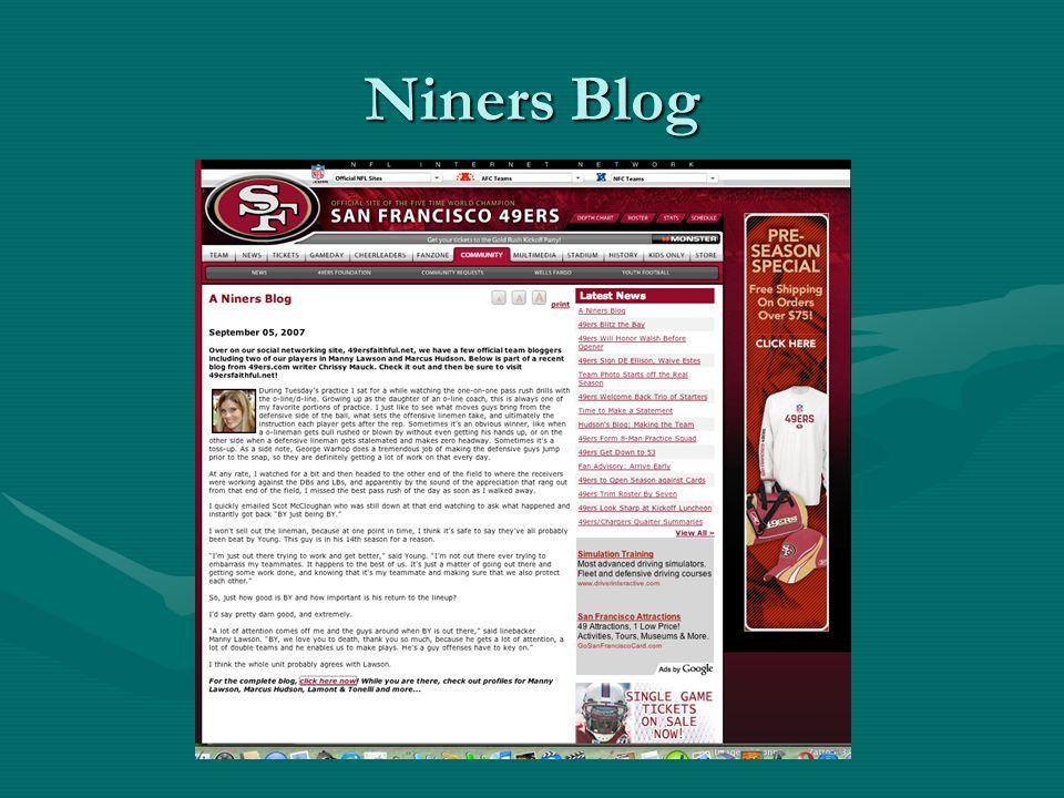 Niners Blog