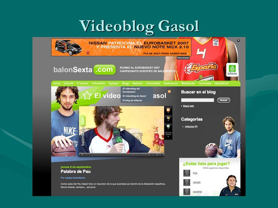 Videoblog Gasol