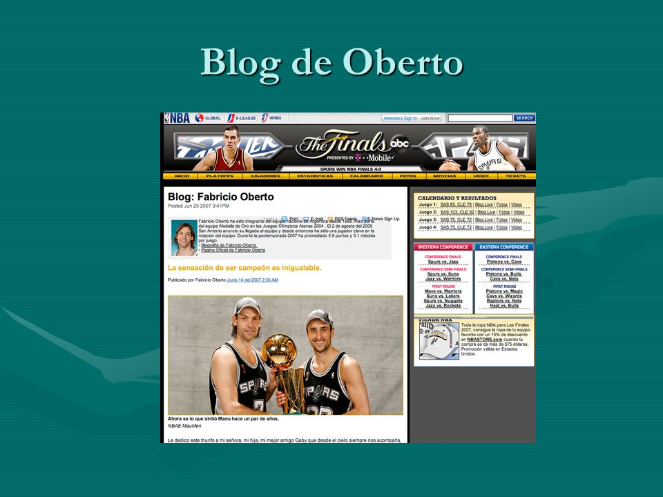 Blog de Oberto