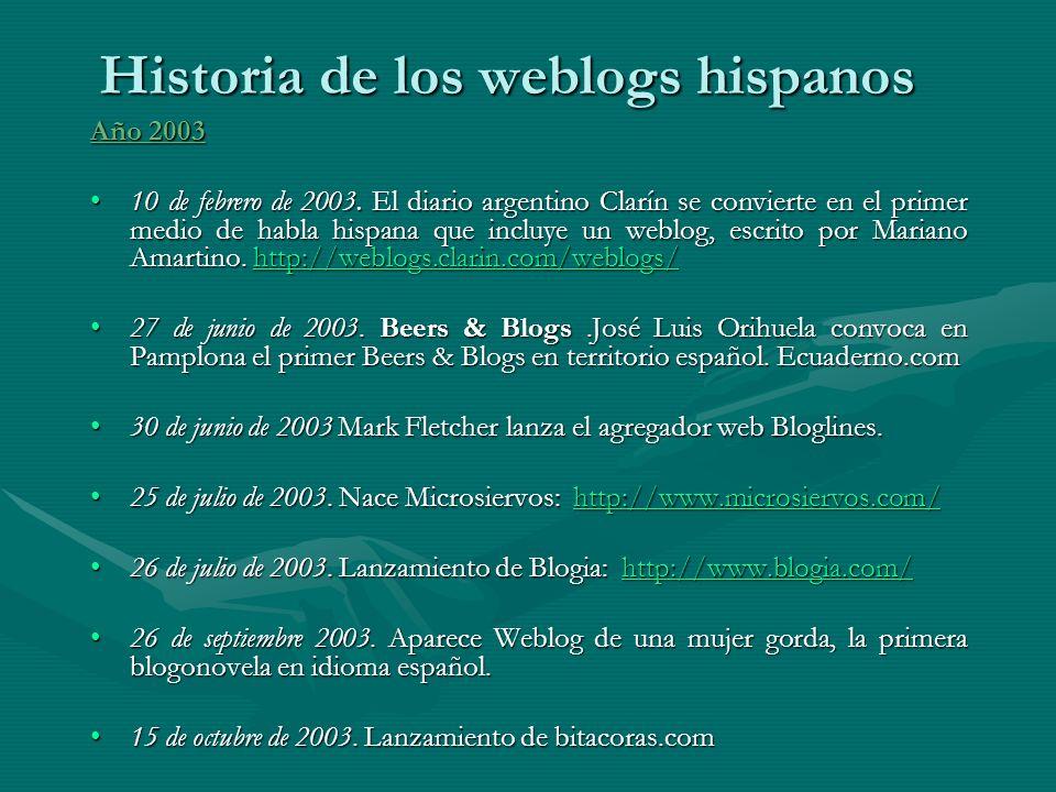 Año 2003 10 de febrero de 2003.