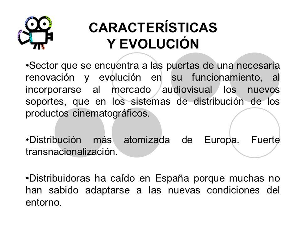 CARACTERÍSTICAS Y EVOLUCIÓN Sector que se encuentra a las puertas de una necesaria renovación y evolución en su funcionamiento, al incorporarse al mer