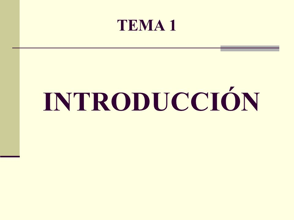 TEMA 1.INTRODUCCIÓN.