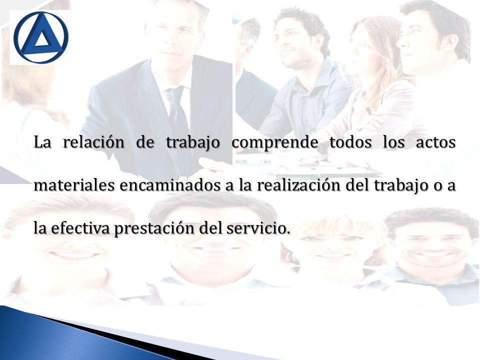 DECISIÓN UNILATERAL DEL EMPLEADOR ARTÍCULO 212 DEL CÓDIGO DE TRABAJO