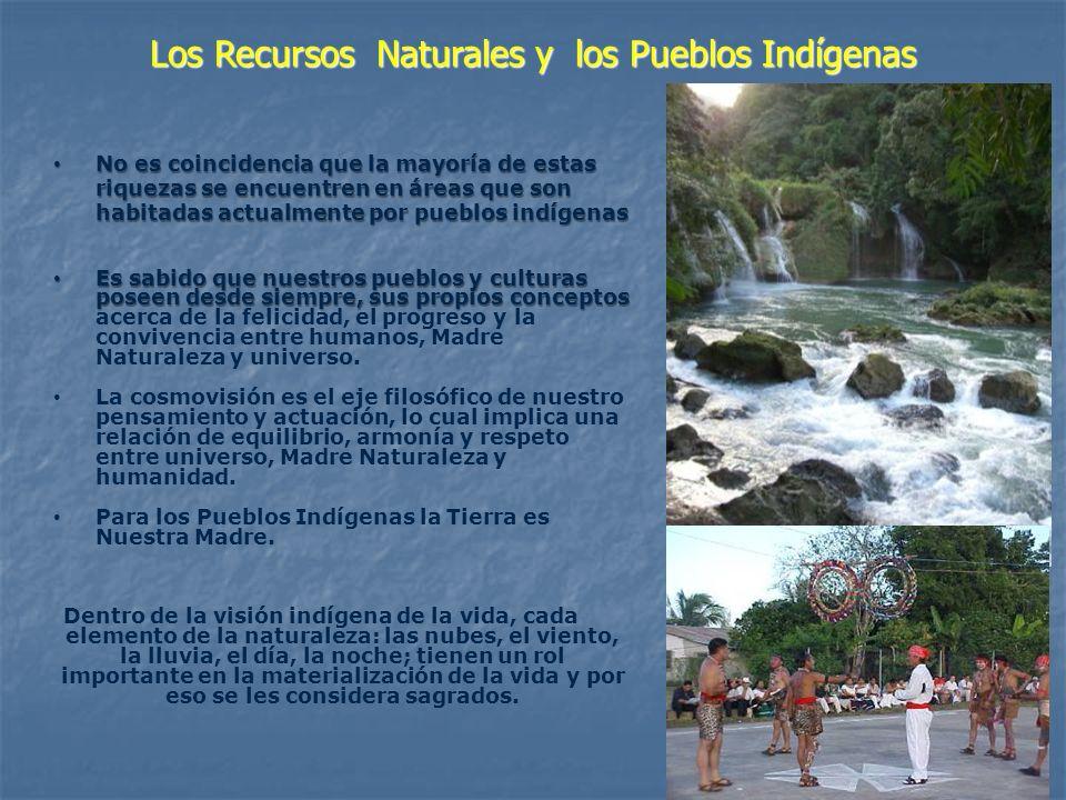 Pueblos Indígenas de Mesoamerica Recursos Naturales de Mesoamerica