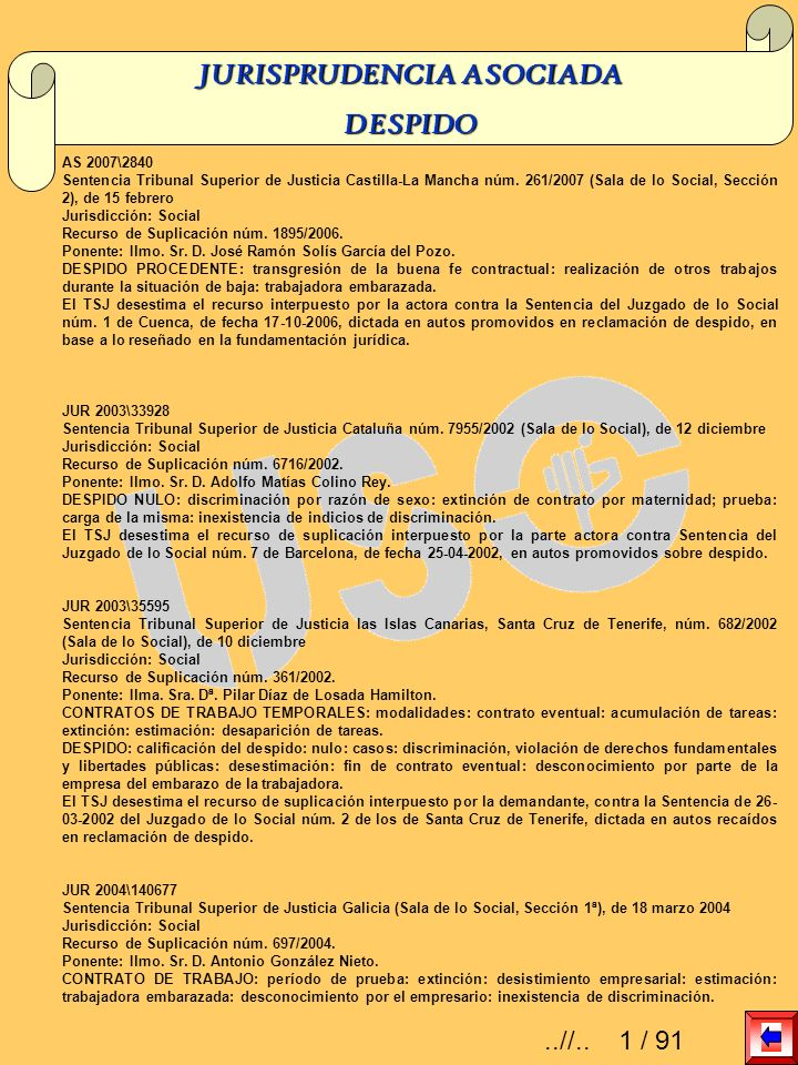 AS 2007\2096 Sentencia Tribunal Superior de Justicia Comunidad Autónoma de les Illes Balears núm.