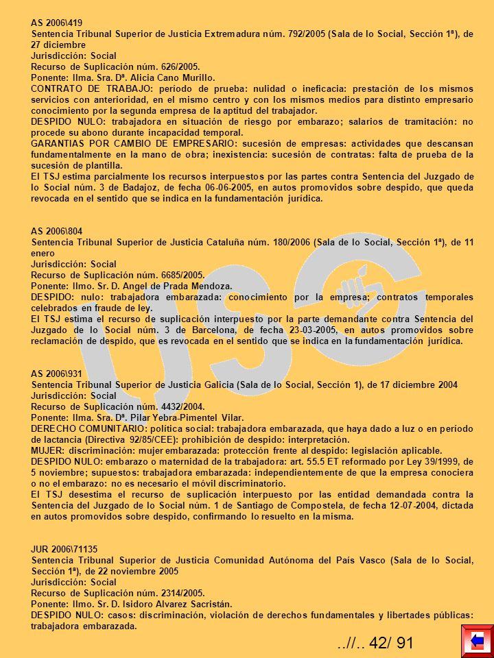AS 2006\419 Sentencia Tribunal Superior de Justicia Extremadura núm. 792/2005 (Sala de lo Social, Sección 1ª), de 27 diciembre Jurisdicción: Social Re