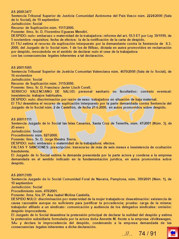AS 2000\3477 Sentencia Tribunal Superior de Justicia Comunidad Autónoma del País Vasco núm. 2224/2000 (Sala de lo Social), de 19 septiembre Jurisdicci