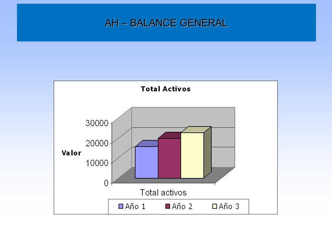 AH – BALANCE GENERAL