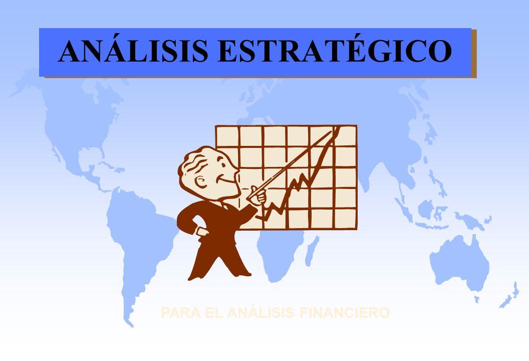 ANÁLISIS ESTRATÉGICO PARA EL ANÁLISIS FINANCIERO