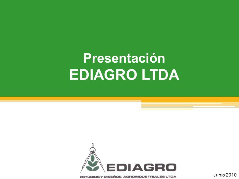 Presentación EDIAGRO LTDA Junio 2010