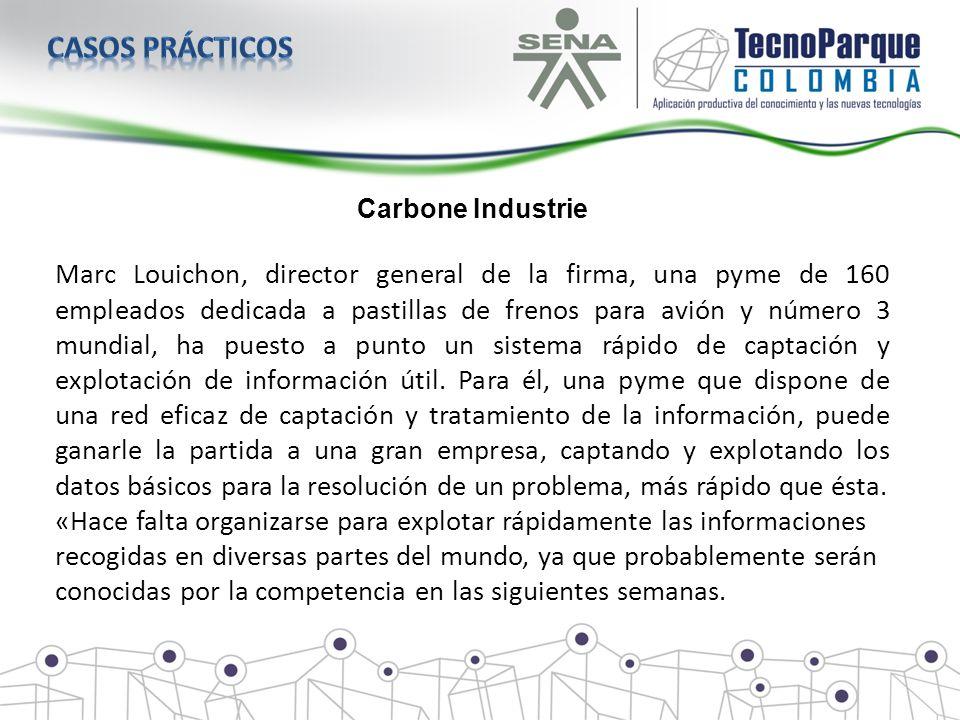 Carbone Industrie Marc Louichon, director general de la firma, una pyme de 160 empleados dedicada a pastillas de frenos para avión y número 3 mundial,