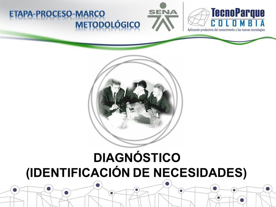 DIAGNÓSTICO (IDENTIFICACIÓN DE NECESIDADES)