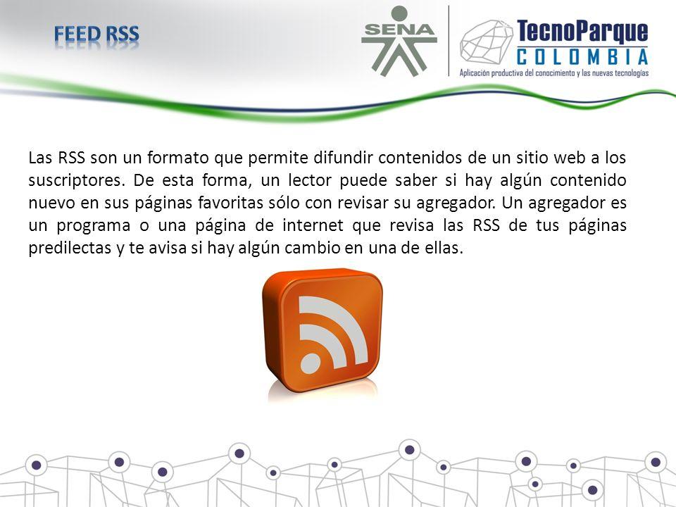 Las RSS son un formato que permite difundir contenidos de un sitio web a los suscriptores. De esta forma, un lector puede saber si hay algún contenido